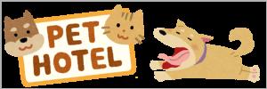 犬猫のペットホテルについて